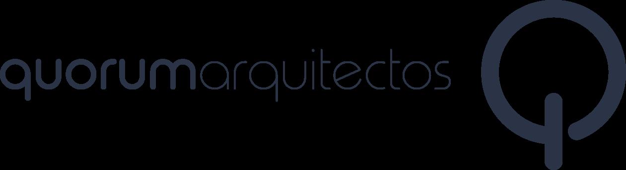 logotipo quorum arquitectos